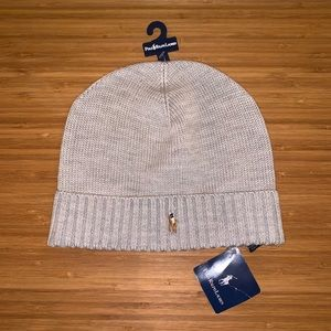New Polo Ralph Lauren Heather Merino Beanie Hat!